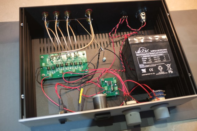 stereo coffee LDR preamplifier | lencomotion audio